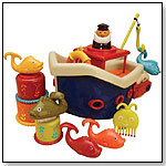 B. Fish & Splish Bath Boat by TOYSMITH