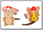 Oops - Holiday Mouse by FIERCE FUN TOYS LLC