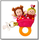 Liz Teething Rattle by LILLIPUTIENS