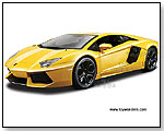 BBurago - Lamborghini Aventador LP700-4 Hard Top 1:18 scale die-cast collectible model car by TOY WONDERS INC.
