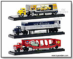 Castline M2 Machines Auto-Haulers - Tractor Trailers Release 6 1:64 scale die-cast collectible models by TOY WONDERS INC.
