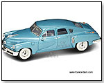 Yatming Road Signature - 1948 Tucker Torpedo Hard Top 1:43 scale die-cast collectible model car by TOY WONDERS INC.