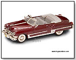 Yatming Road Signature - 1949 Cadillac Coupe de Ville Convertible 1:43 scale die-cast collectible model car by TOY WONDERS INC.