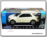 Welly - Mercedes-Benz ML350 SUV 1:18 scale die-cast collectible model car by TOY WONDERS INC.