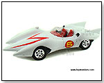 Auto World Silver Screen Machines - Speed Racer Mach #5 with a Monkey Figure 1:18 scale die-cast collectible model car</title><style>.adr8{position:ab by TOY WONDERS INC.