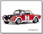 Sun Star Classic Rally - Fiat 124 Abarth Race Car A.Jaroszewicz / R.Zyszkowski #2 by TOY WONDERS INC.