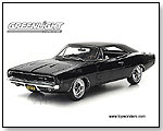Greenlight Steve McQueen Bullitt - 1968 Dodge Charger R/T Hard Top 1:18 scale die-cast collectible model car by TOY WONDERS INC.