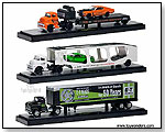 Castline M2 Machines Auto-Haulers - Tractor Trailers Release 7 1:64 scale die-cast collectible models by TOY WONDERS INC.