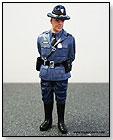 American Diorama Figurine - 1:18 Scale Single State Trooper Craig Figure in BLUE by TOY WONDERS INC.