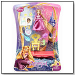 Disney Tangled Rapunzel Tower Treasures Doll and Favorite Things Playset by MATTEL INC.