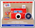 Fisher Price Retro Changeable Disk Camera by SCHYLLING