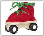 Lacing Skate, red by HAPE