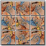 Diggin' Dinos Scramble Squares® by b.  dazzle, inc.