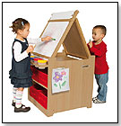 Desk to Easel Art Cart by GUIDECRAFT INC.