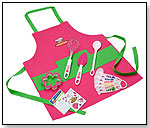 11 PC Girl's Chef Kit by CURIOUS CHEF INC.