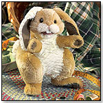 Patchwork Rabbit Puppet by FOLKMANIS INC.