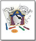 Tub-Art Pirate Set by EDUSHAPE LTD.