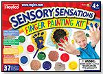 Sensory Sensations Finger Painting Kit by ROYLCO INC