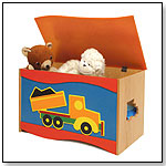 Room Magic Toy Box, Boys Like Trucks by ROOM MAGIC TEXTILES