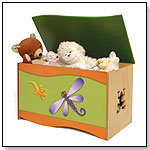 Room Magic Toy Box, Dragonfly and Lizard by ROOM MAGIC TEXTILES
