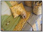 Golf Star 7pc Crib Bedding by LITTLE FERN LLC