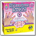 Rhinestone Rings by CREATIVITY FOR KIDS