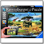 Animals in Africa 1000 Piece Augmented Reality Puzzle by RAVENSBURGER