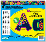 Italy Letter Pop-Outs by BARKER CREEK PUBLISHING