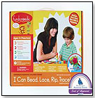 I Can Bead, Lace, Rip, Trace! Multi-Activity Kit by FUNDANOODLE