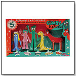 Gumby and Friends Bendable Box Set by NJ Croce Company