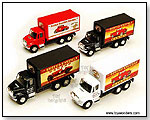 International Busted Knuckle Garage Delivery Truck die-cast collectible model car by TOY WONDERS INC.