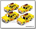 Chicago Yellow Taxi Cab die-cast collectible model car by TOY WONDERS INC.