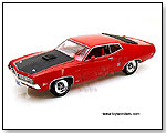 Auto World ERTL American Muscle - 1970 Ford Torino GT 1:18 scale die-cast collectible model car by TOY WONDERS INC.