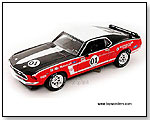 Phoenix Unique Replicas - 1969 Ford Mustang Boss 302 Racer #01 1:24 scale die-cast collectible model car by TOY WONDERS INC.