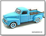 Yatming - 1950 GMC Pick-up Truck 1:18 scale die-cast collectible model car by TOY WONDERS INC.