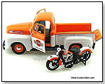 Maisto - 1948 Ford F-1 Pickup Harley-Davidson & 1948 FL Panhead Motorcycle 1:24 scale die-cast collectible models</title><style>.adr8{position:absolut by TOY WONDERS INC.