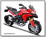 Maisto - Ducati Multistrada 1200S Motorcycle 1:12 scale die-cast collectible model by TOY WONDERS INC.
