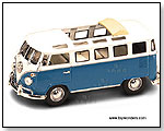 Yatming Road Signature - 1962 Volkswagen Microbus w/ Open Roof 1:43 scale die-cast collectible model car by TOY WONDERS INC.