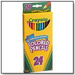 Crayola 24ct Long Colored Pencils by CRAYOLA LLC
