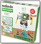 Makedo Find & Make Robot - 33 pc by TOYSMITH