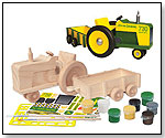 John Deere Wood Kit - Deluxe Heritage Tractor & Wagon by MASTERPIECES PUZZLE CO. INC.