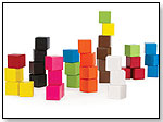 Colored Cubes 36 by KID O PRODUCTS