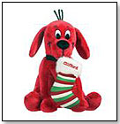 """Holiday Clifford Small Sitting 7"""" by DOUGLAS CUDDLE TOYS"""