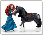 Disney/Pixar Brave Merida and Angus Doll Set by MATTEL INC.