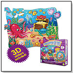 Puzzle Doubles - 3D Discover It! Floor Puzzles Ocean by THE LEARNING JOURNEY INTERNATIONAL