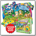Puzzle Doubles! Discover It! 3D Safari Floor Puzzle by THE LEARNING JOURNEY INTERNATIONAL