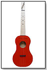 Zither Heaven Red Ukulele by ZITHER HEAVEN
