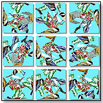 Black Capped Chickadees Scramble Squares® 9-Piece Puzzle by b.  dazzle, inc.