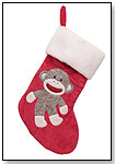 Sock Monkey Holiday Stocking by RASHTI & RASHTI
