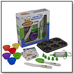 16 Piece Cupcake Kit by CURIOUS CHEF INC.